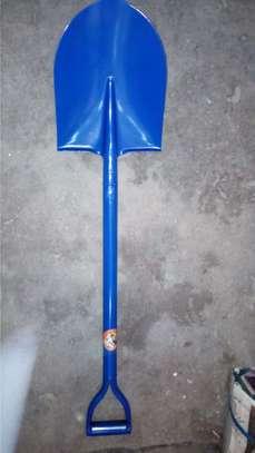 Metal handle Construction Shovel image 2