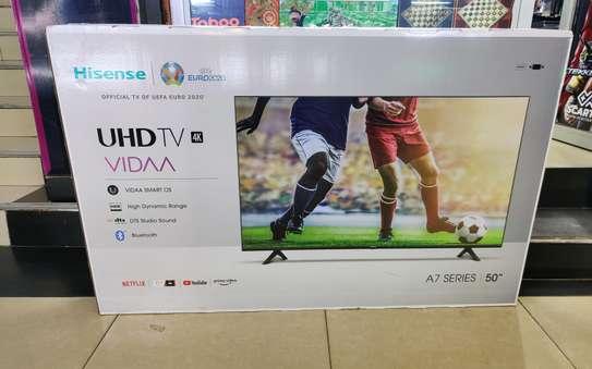 BRAND NEW !!HISENSE 50INCH SMART 4K UHD TV (Frameless) image 1