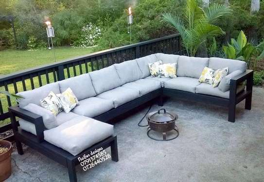 Seven seater outdoor sofas for sale in Nairobi Kenya/U shaped sofas for sale in Nairobi Kenya/outdoor furniture sofas for sale in Nairobi Kenya image 1