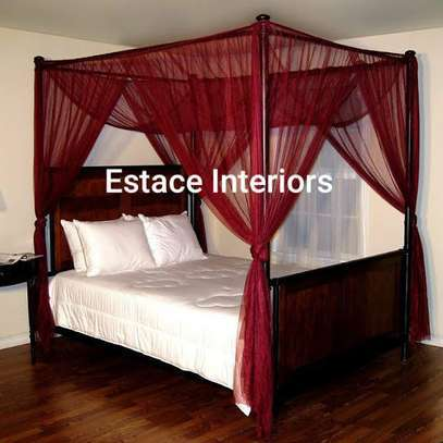 Mosquito net.  Embakasi Nairobi  Seller offers delivery Within Nairobi we offer free deliveries. Country wide we charge normal sending fee.  Details ConditionNew Description We do custom made curtains, we have both plain and printed curtains with their sheers matchingAll colours available. We sell at 1000 per metre.
