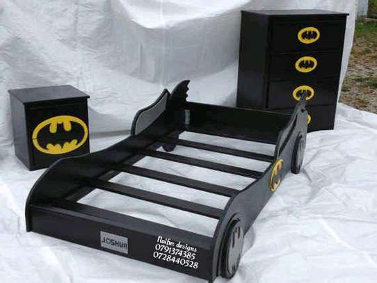 Black car beds/baby beds image 1