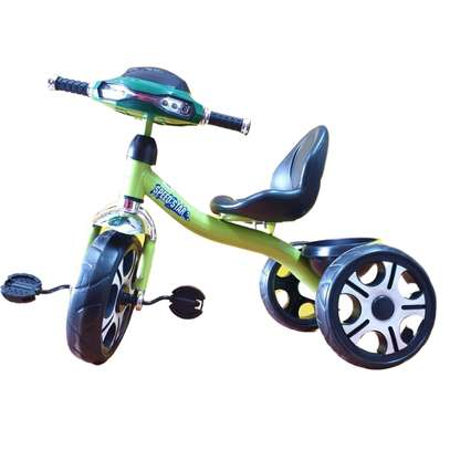 Kid's Tricycle Bike-  Lime Green.