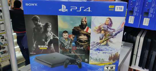 PS4 1TB Slim Console With 3games