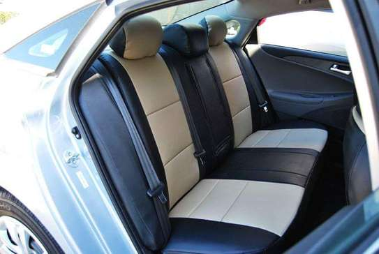 Car Seats Covers Leather Upholstery image 4