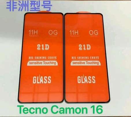 Tecno Camon 16 Premier 3D Glass Protector(shop) image 1