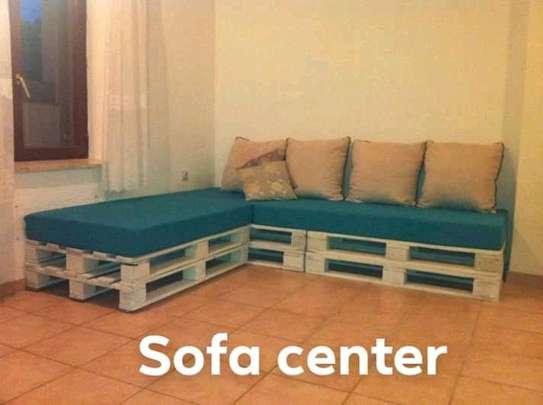 Versatile Modern Quality 6 Seater Pallet Corner Sofa image 1