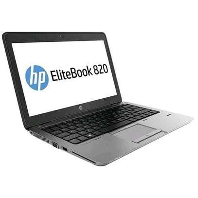 HP Refurbished Elitebook 820, 12.5″, Corei5, 4GB RAM-+ 500 GB HDD – Black image 1