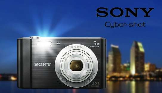 Sony Cyber-shot DSC-W800 Digital Camera (Black) image 2