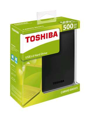 500 GB EXTERNAL HARD DISK