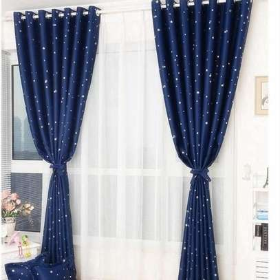 CLASSY BLUE CURTAINS image 2