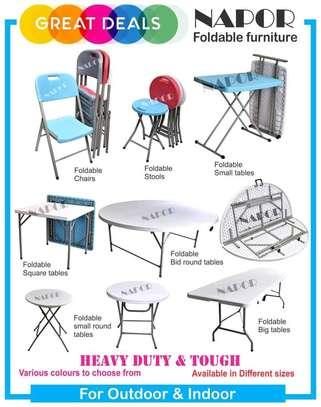 Foldable Study Seat image 1