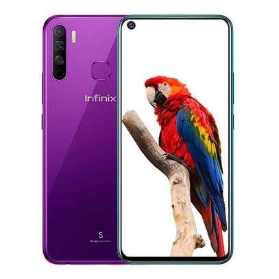 "Infinix S5 Lite- 6.6"" Inch - 4GB RAM - 64GB ROM - 16MP+2MP+AI Main Camera + 16MP Selfie Camera - 4G - 4000 MAh Battery image 1"