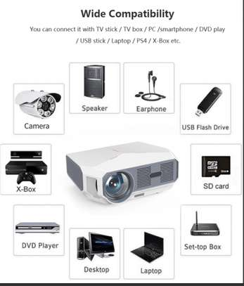 Android 4K Projector 4600 Lumens image 4