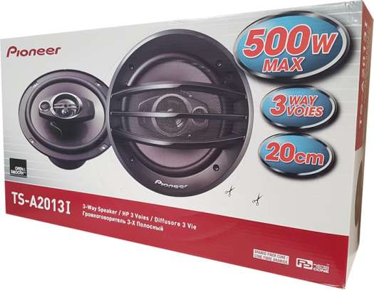 """Pioneer TS-A2013i - 20cm 8"""" 3-Way Coaxial Car Speakers image 1"""