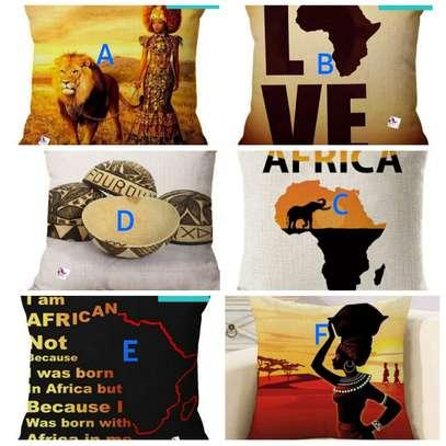 African throw pillow cases/Nairobi image 3
