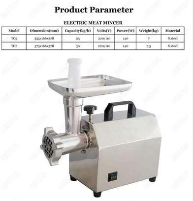 Industrial Frozen Meat Grinder Machine-Tk12 image 1
