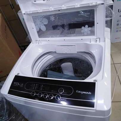 Tcl washing machine 9kg full Automatic top load image 1