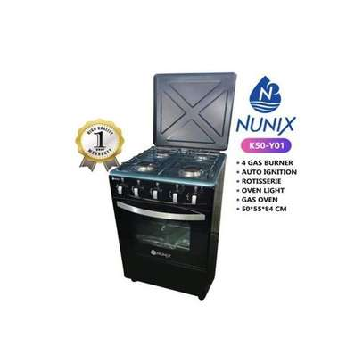 Nunix New 4 Gas Burners 50*55cm Free Standing Cooker image 1