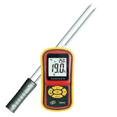 Digital Grain Moisture Meter Wheat Rice Humidity Tester Damp Detector image 5