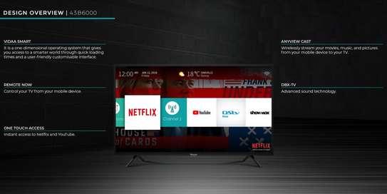 """Hisense 43B6000PW 43"""" FULL HD Smart TV - Black image 2"""