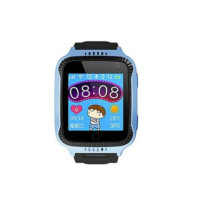 G900A GPS Kids Smart Watch Camera Phone - Blue