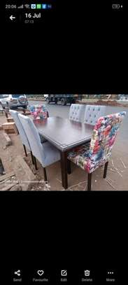 Functional Contemporary Beautiful 6 Seater Dining Table image 1