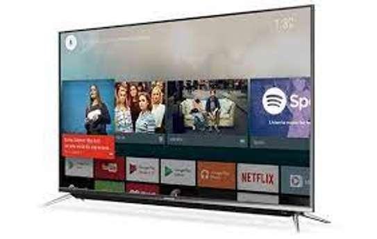 Skyworth 50 inch digital smart android 4k frameless tv image 1