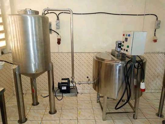milk pasteurizer {dairy board approved}