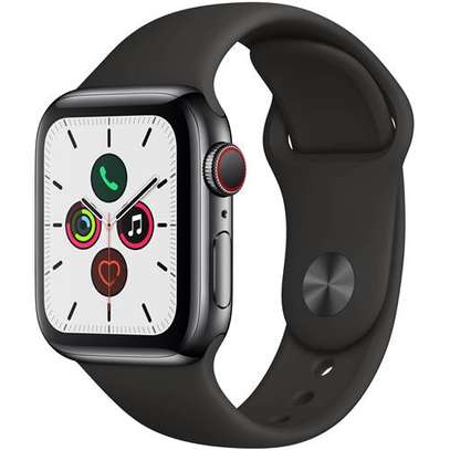 Apple Watch Series 5 (40mm, Space Black Stainless Steel) image 1