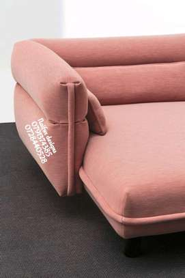 Modern pink couches and sofas/modern five seater sofas/sofas for sale in Nairobi Kenya image 2