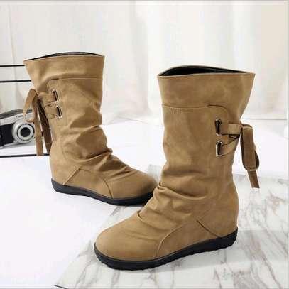 Midleg warm ladies boots image 3