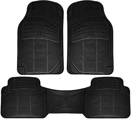 Brand new car floor mats both rubber and woolen for all models image 1