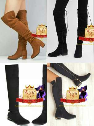 Flat Above Knee Boots image 1