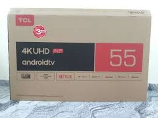 "55"" tcl 4k uhd Android TV p8 series image 1"