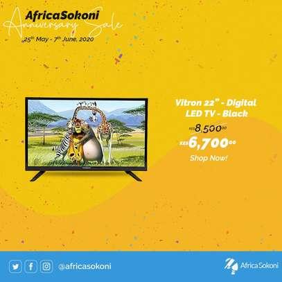 """22"""" Vitron Digital LED TV- Black image 1"""