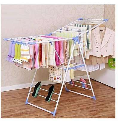 Foldable Clothe drying rack image 1
