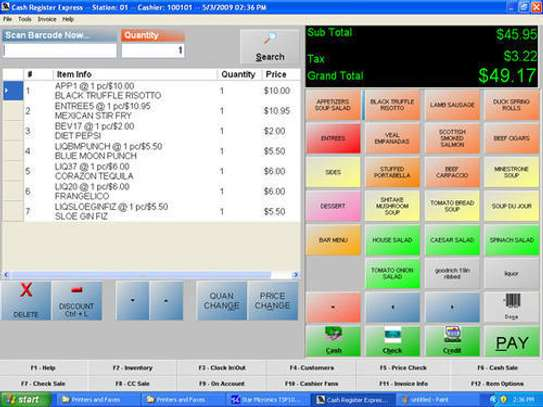 Restaurant Point Of Sale POS Software