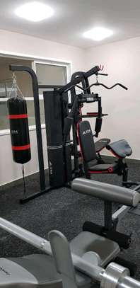 Multi gym/Integrated  three station trainer/Homegym image 2