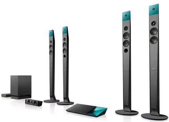 Sony BDV-N9200W 1200w 3D Blu-ray Home Theater Systems Bluetooth with Wireless Speakers Black image 2