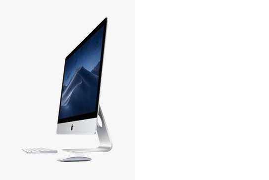 "2019 Apple iMac 27 MRQY2B/A All-in-One, Intel Core i5, 8GB RAM, 1TB Fusion Drive, Radeon Pro 570X, 27"" 5K, Silver"