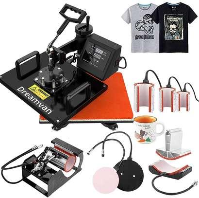 Heat Press, Heat Transfer Machine 12X15 8IN1 image 5