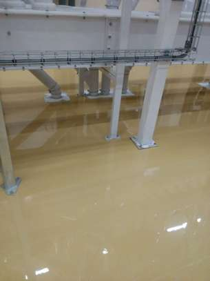 Fossilcote Floor installation for Ajabu Flour Mill Co. image 9