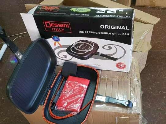 Original Dessine non~stick double grill pan now available image 1