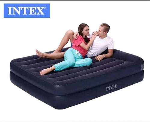 Inflatable intex air bed
