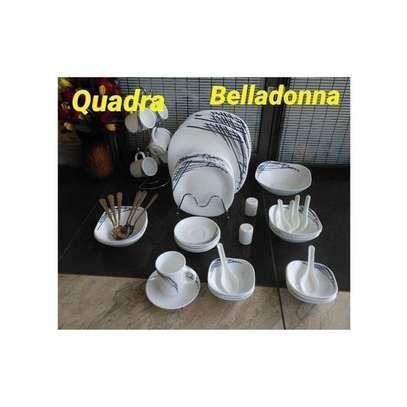 DINNER SET 39PCS QUADRA image 1
