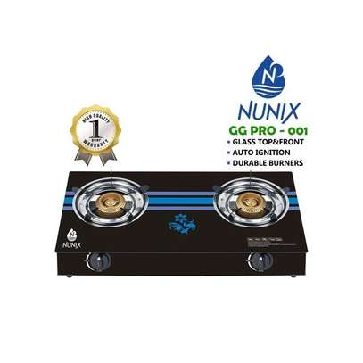 Nunix GG PRO-001 - Tampered Glass Gas Table Cooker