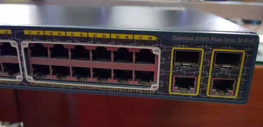 2960 Cisco Switch Plus Series SI PoE 48 ports image 1