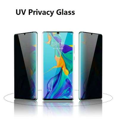 UV Privacy Anti-Spy Full Adhesive Tempered Glass film for Samsung Galaxy S20/S20+ S20 Ultra Screen Protector image 5