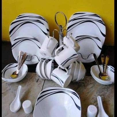 Quadra dinner set/39pcs dinner set image 2