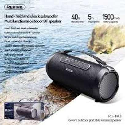Remax RB-M43 Portable Bluetooth Speaker-usb-FM image 3